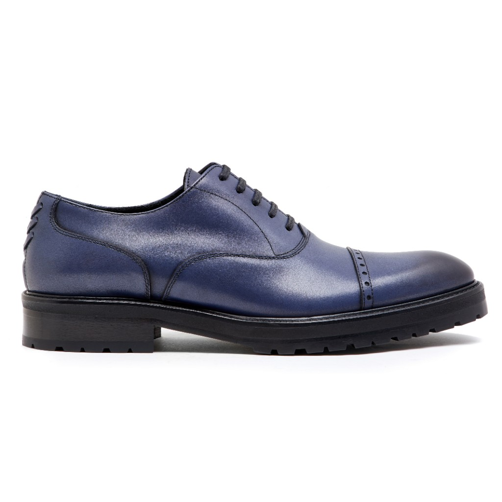 Oliver Oxford Blue Patina 1