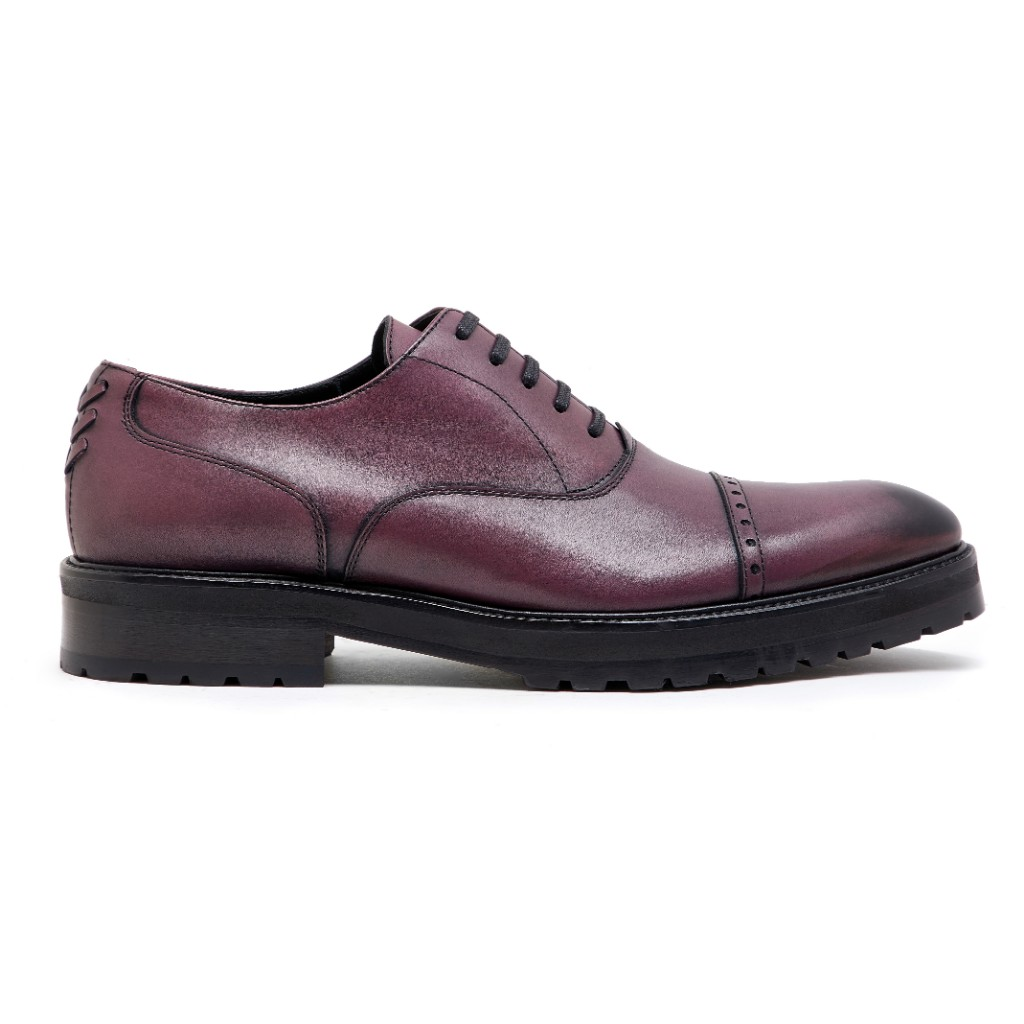 Oliver Oxford Burgundy Patina 1