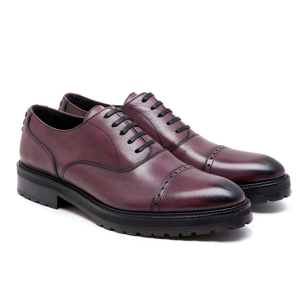 Oliver Oxford Burgundy Patina 2