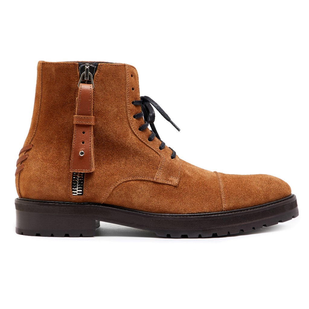 Snowdon Military Camel Suede 1