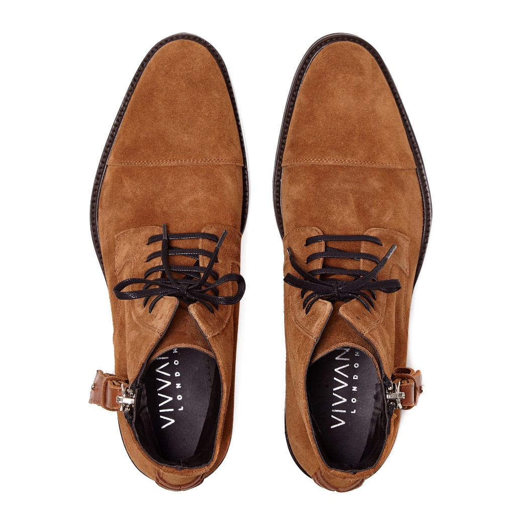 Snowdon Military Camel Suede 4