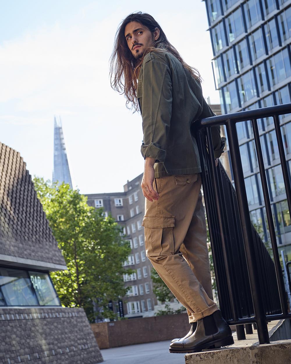 Vivvant London Green Chelsea Boots