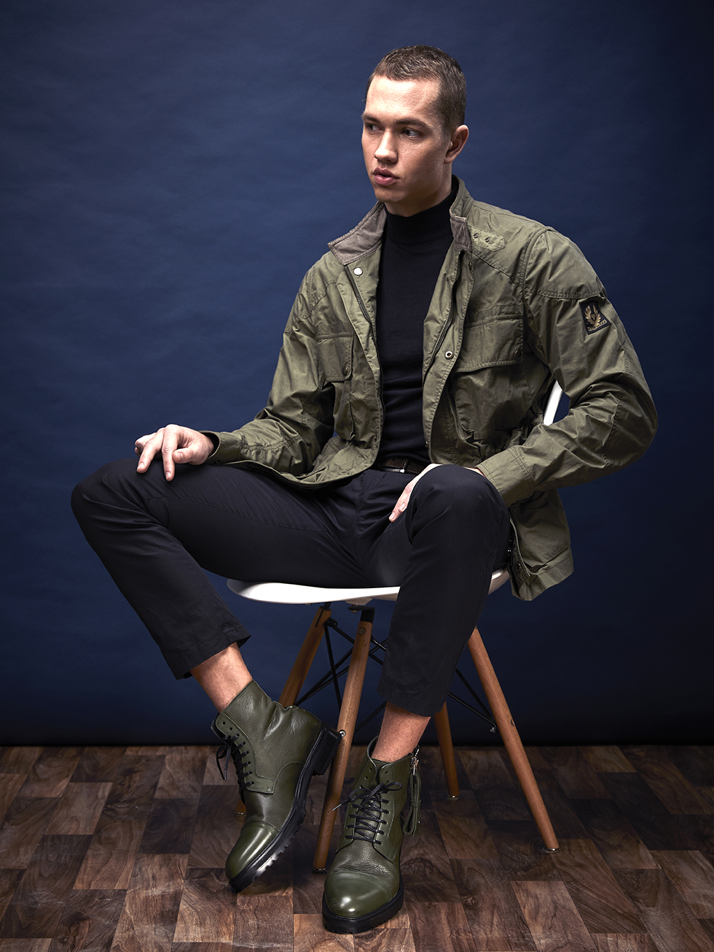 Vivvant London military green boots