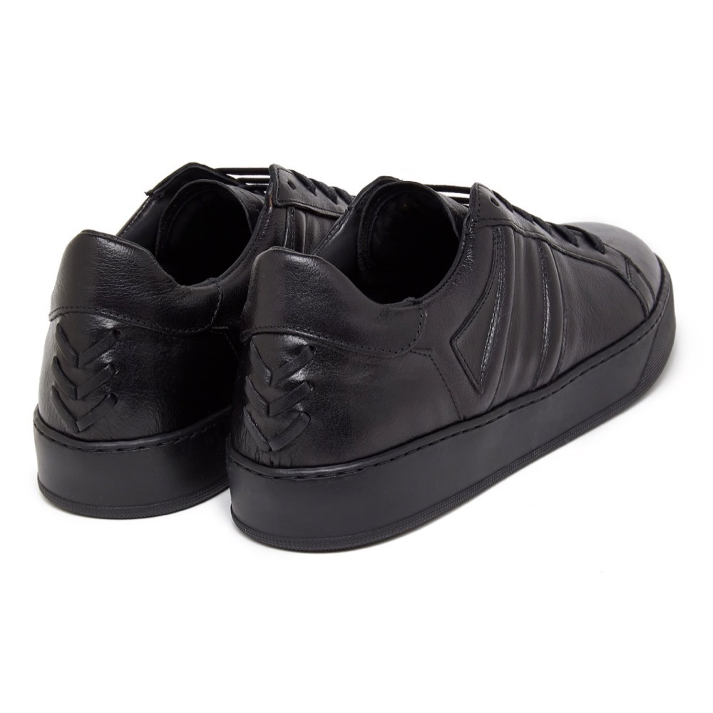 Sneakers Black Grainy B