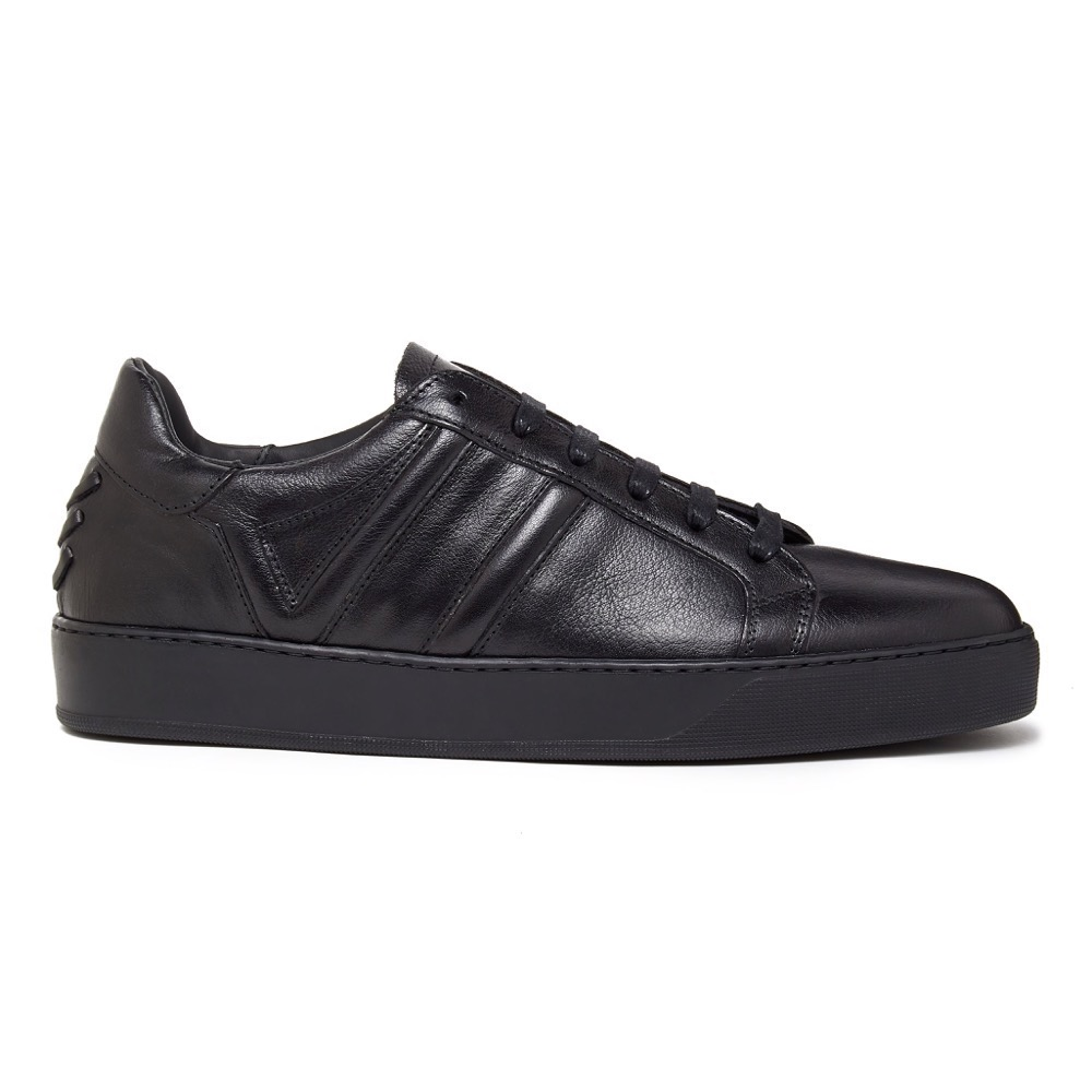 Sneakers Black Grainy S