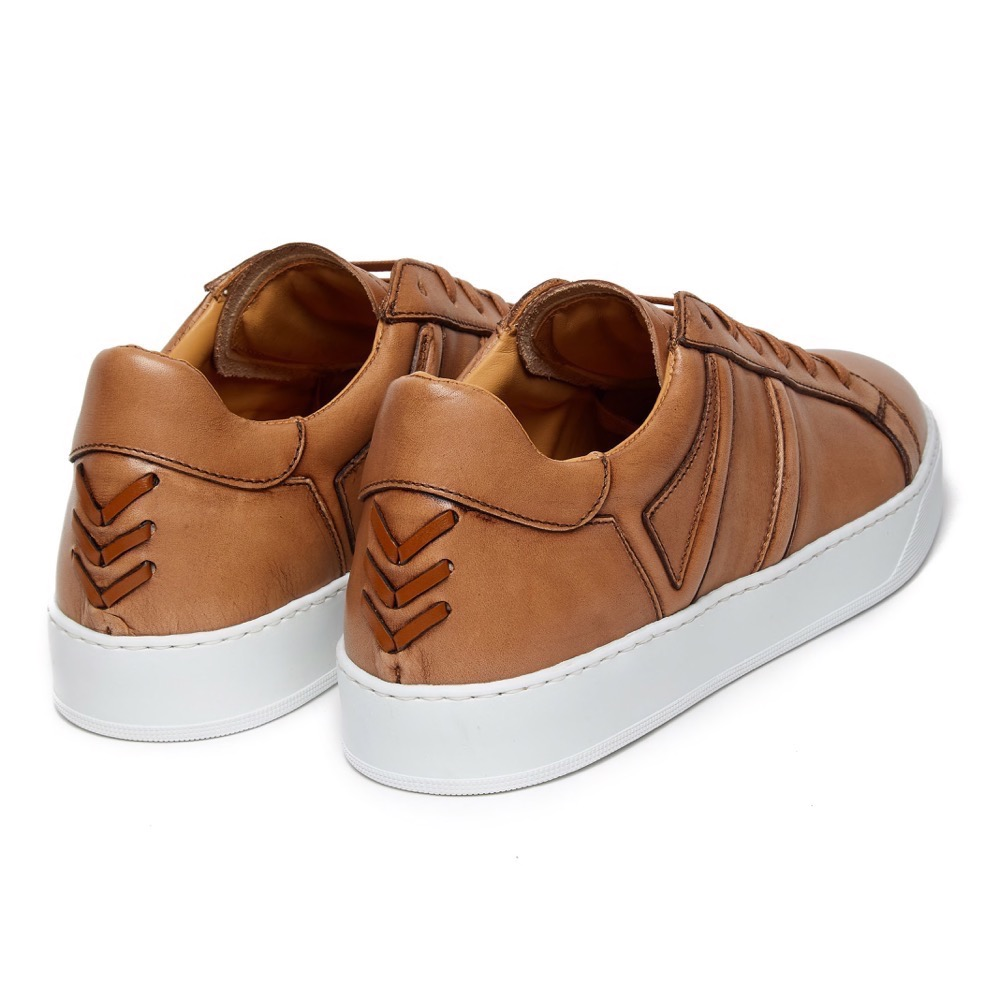 Sneakers Burinish Brown Leather B