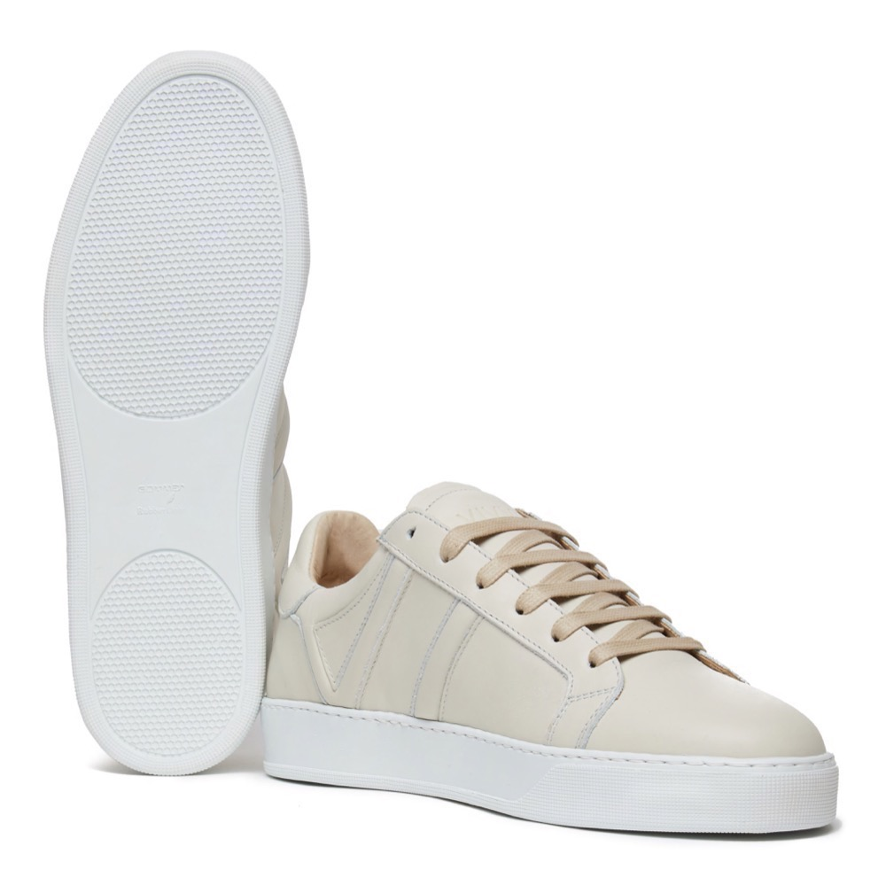 Sneakers Off White Leather A