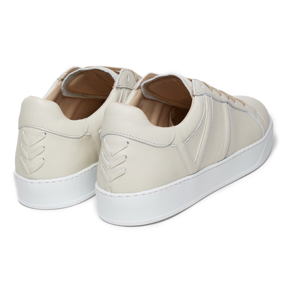 Sneakers Off White Leather B