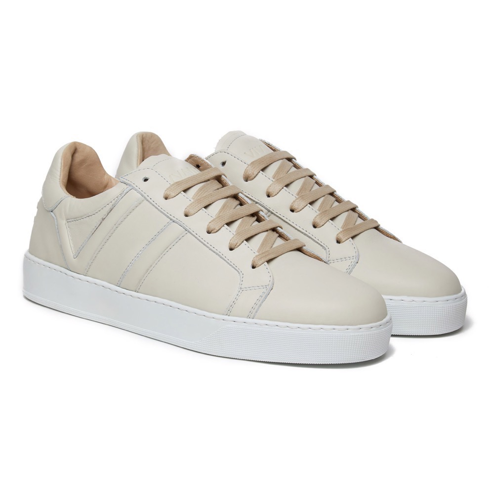 Sneakers Off White Leather F