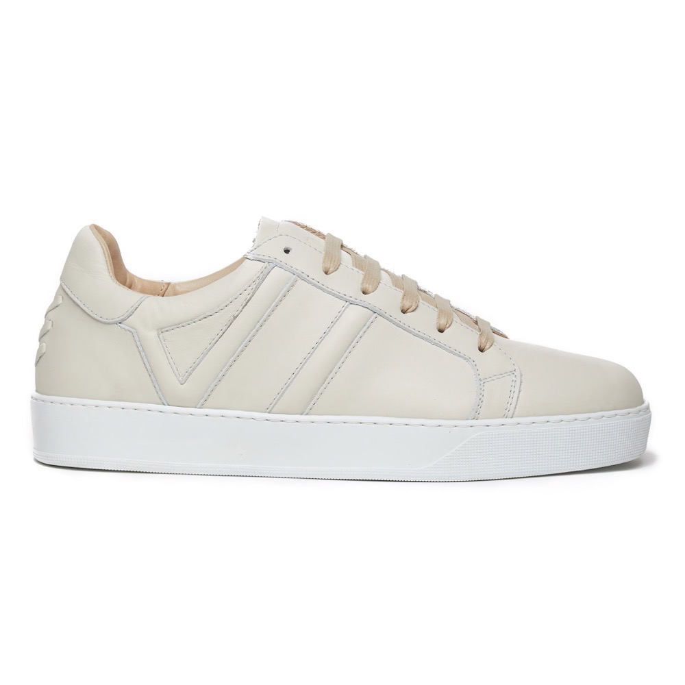 Sneakers Off White Leather S