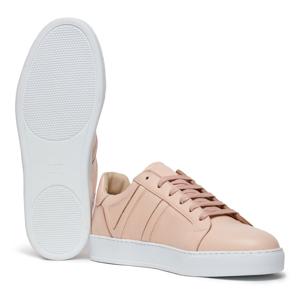 Sneakers Pink Leather A