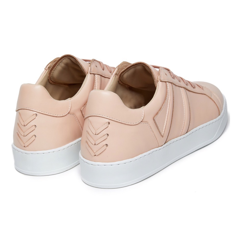Sneakers Pink Leather B