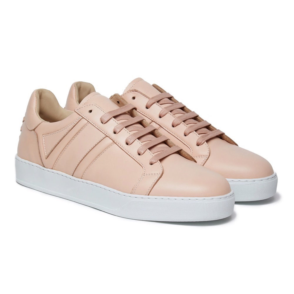 Sneakers Pink Leather F