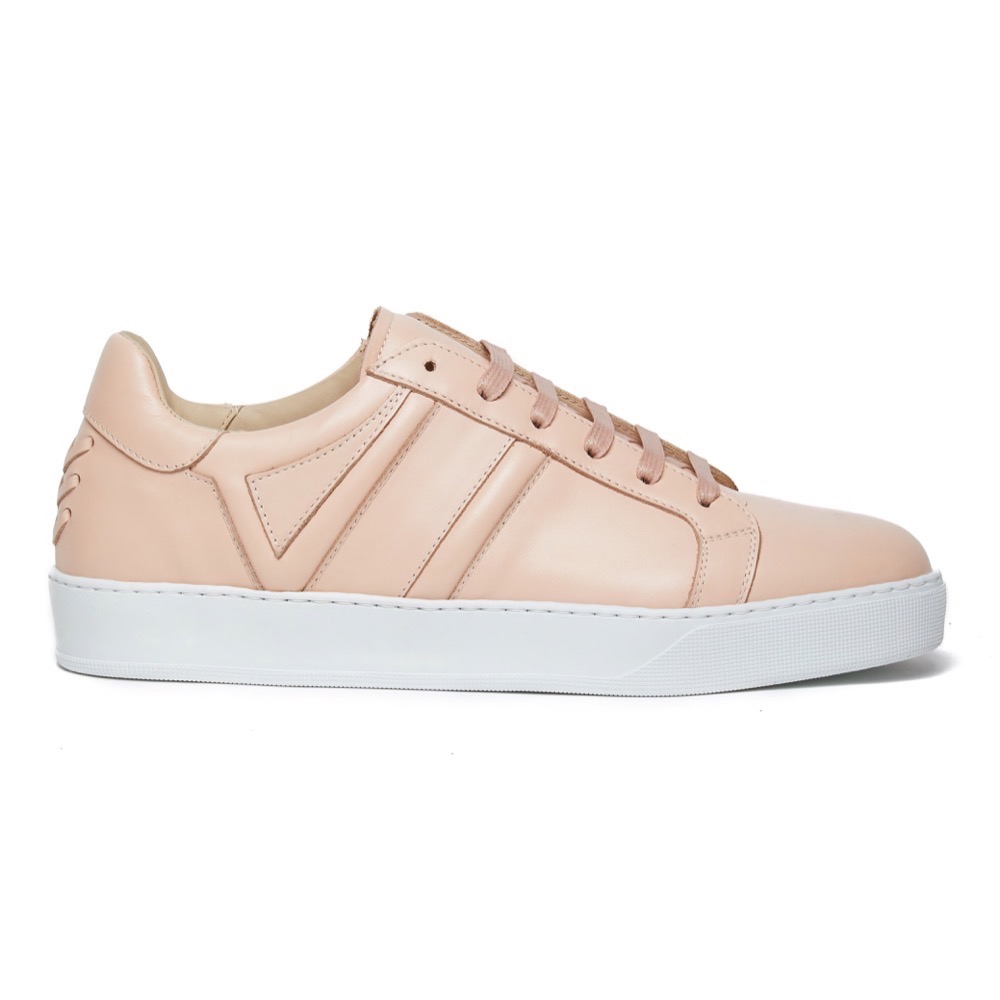 Sneakers Pink Leather S