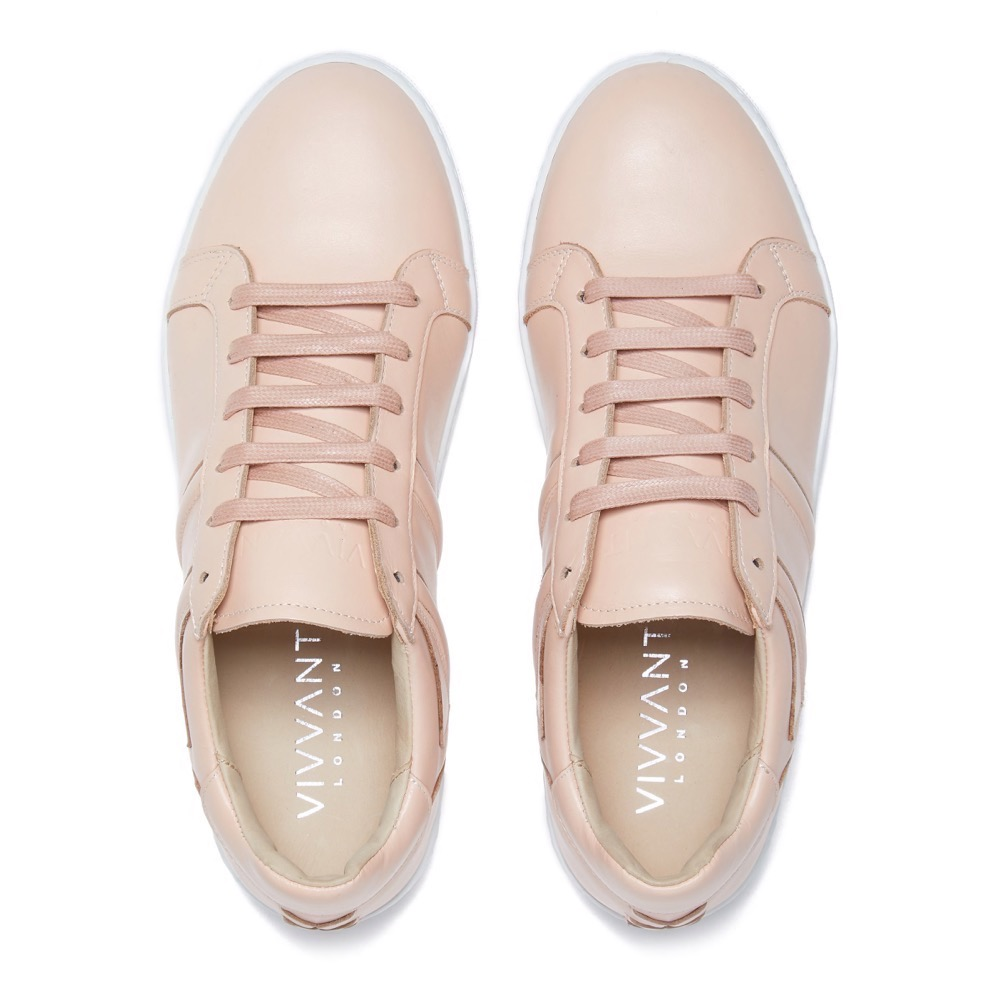 Sneakers Pink Leather T