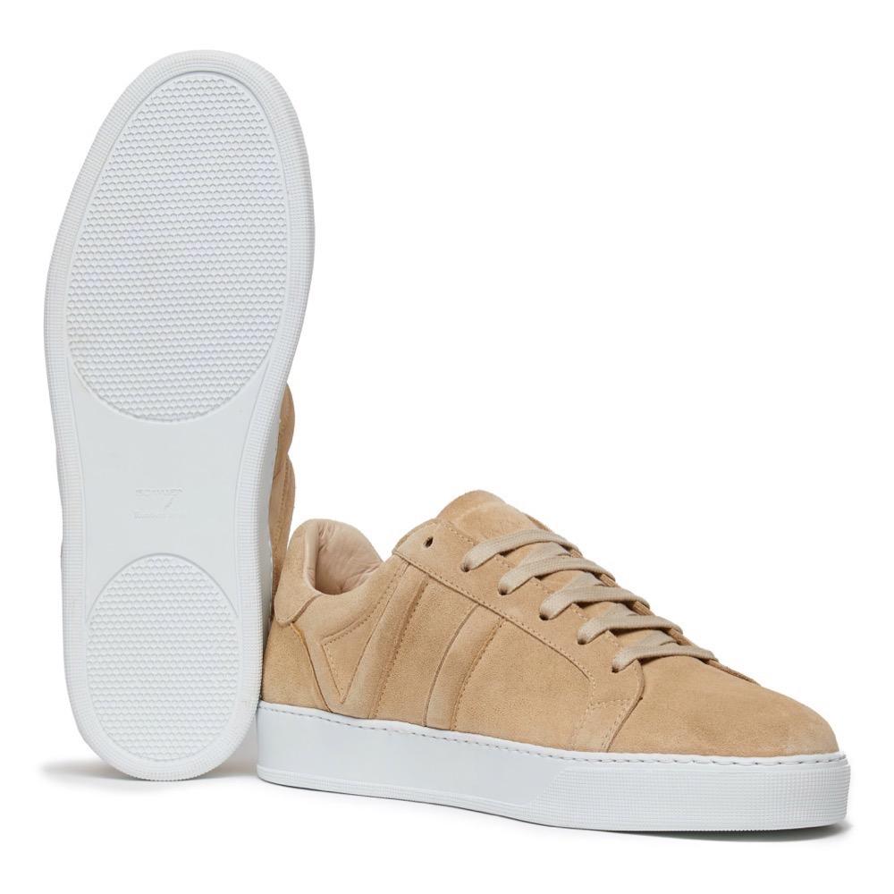 Sneakers Suede Beige A