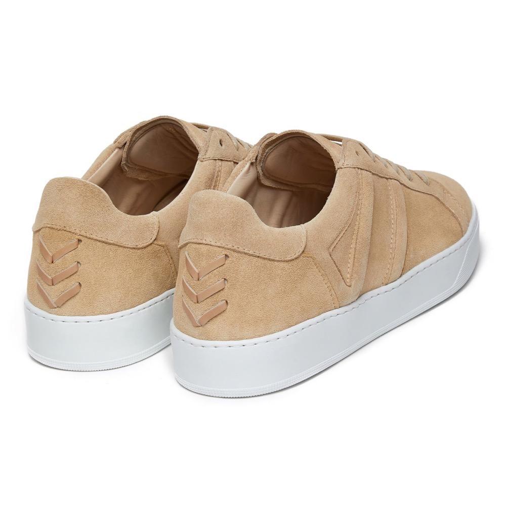 Sneakers Suede Beige B
