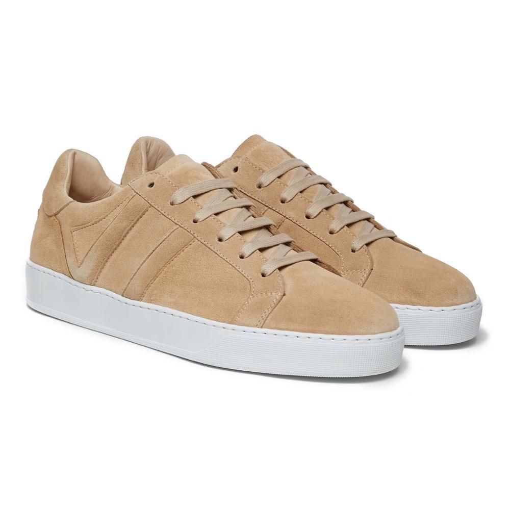 Sneakers Suede Beige F