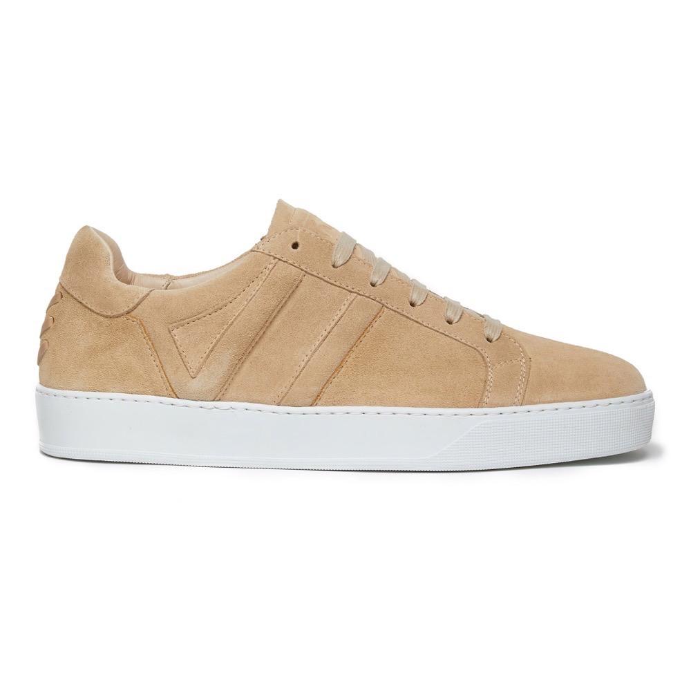 Sneakers Suede Beige S