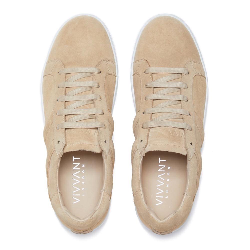 Sneakers Suede Beige T