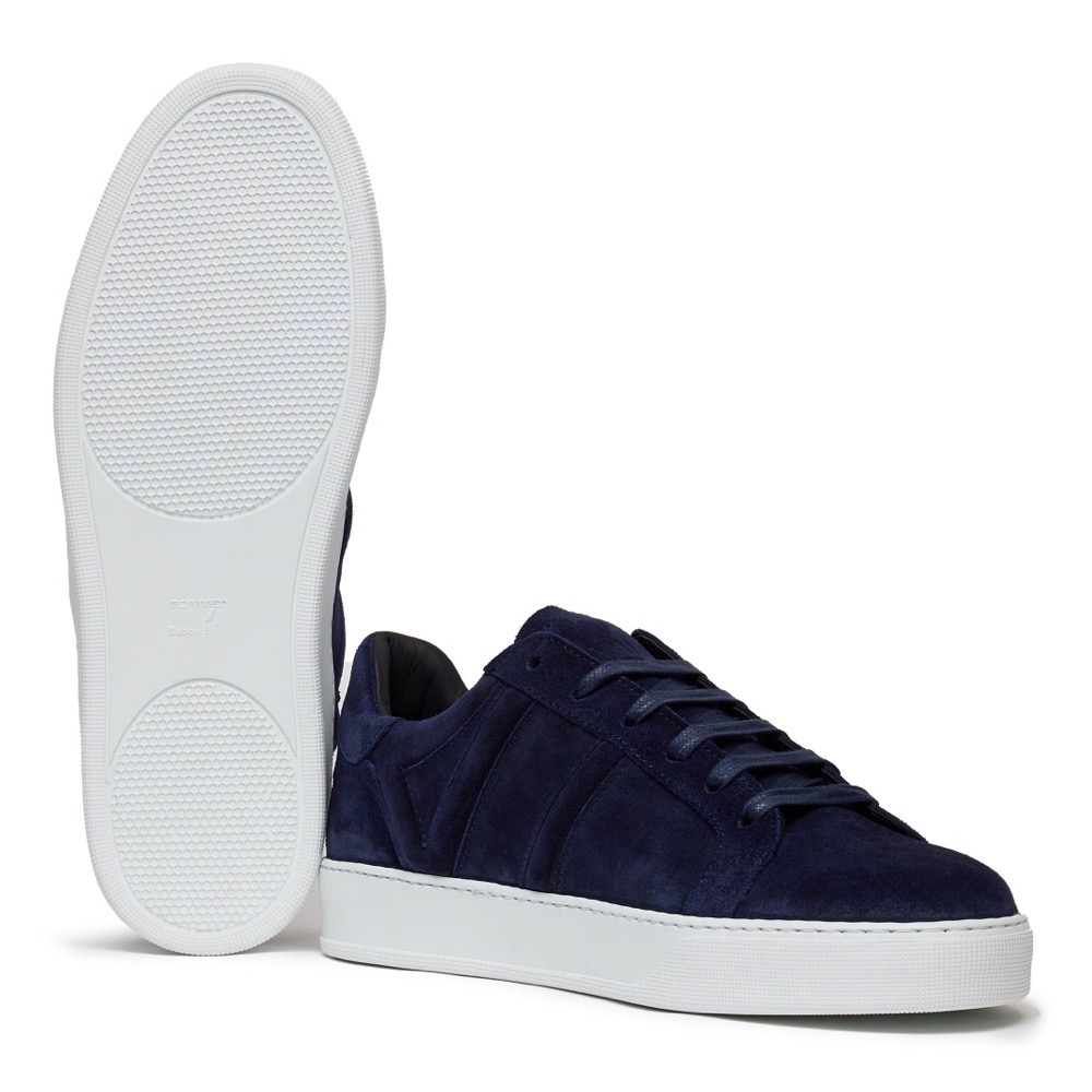 Sneakers Suede Navy A
