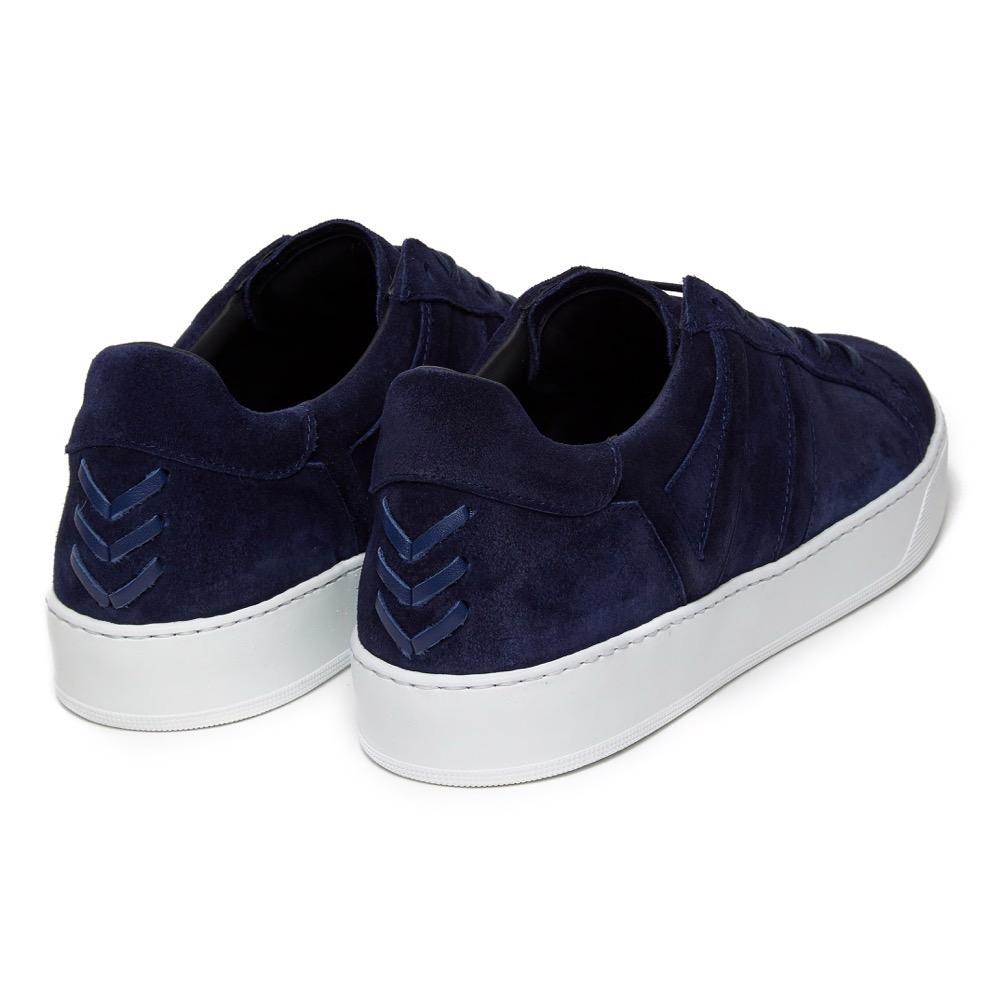 Sneakers Suede Navy B