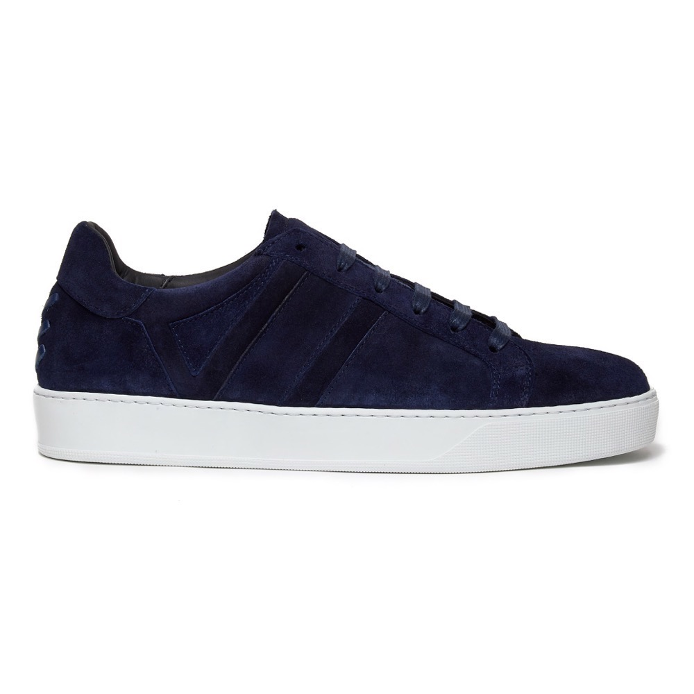 Sneakers Suede Navy S