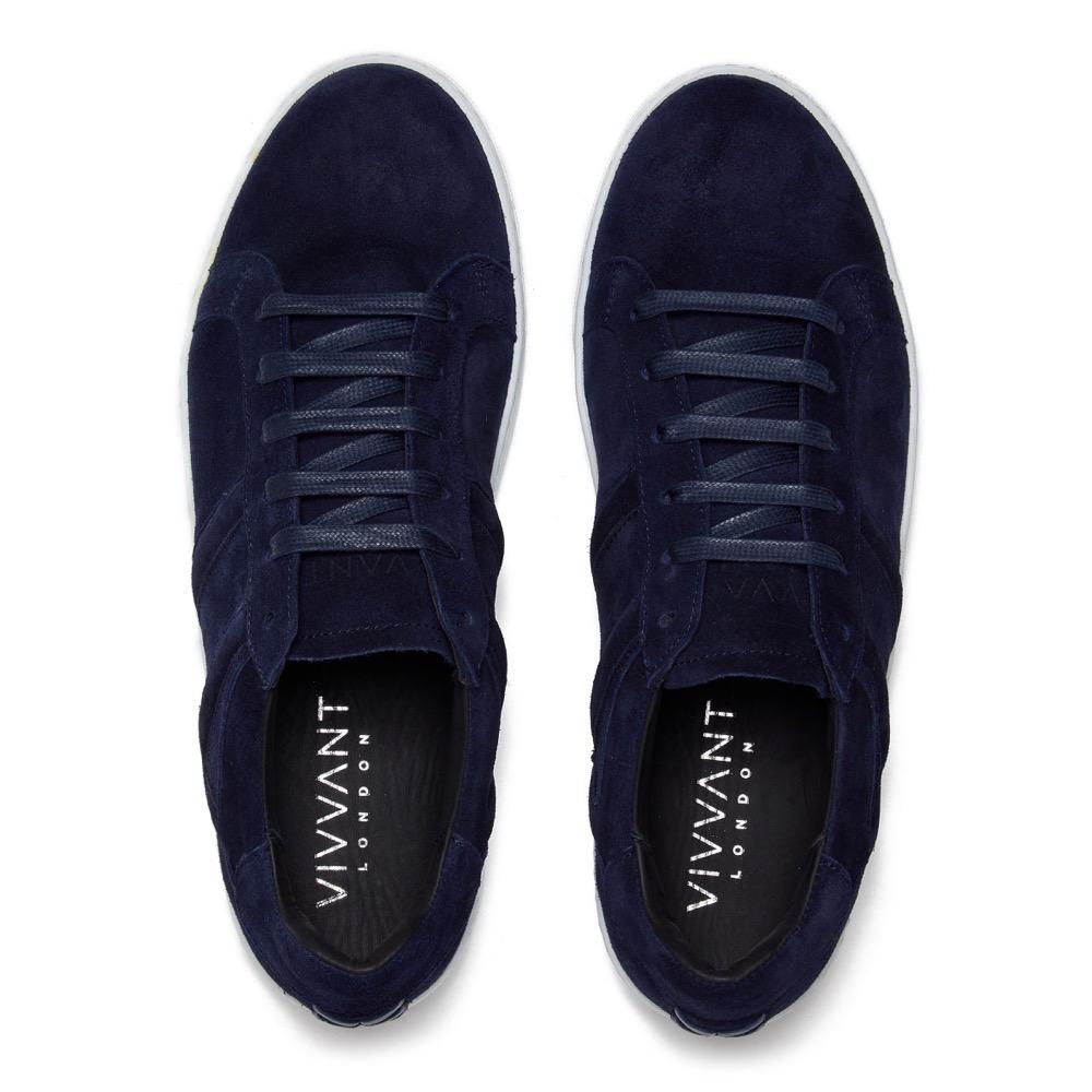 Sneakers Suede Navy T