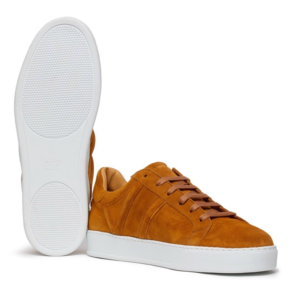 Sneakers Suede Tan A